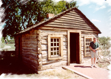 Oldest surviving building in Weld County was built at Fort St. Vrain!